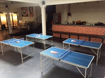 Stolní hokej, mini ping pong