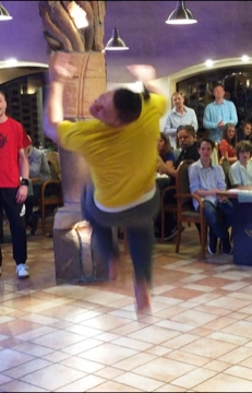 Break Dance exhibice