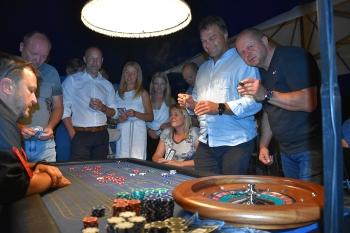 Naše firma nezahálí ani v létě, velká akce s golfovým turnajem resort Cihelny