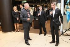 Porsche Design otvírání nové prodejny v Kotvě- mobilni casino kasino Halamka
