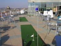 Golfový večírek na střeše, vzpomínka na léto- mobilní casino kasino Halamka