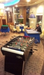 Sobotní mobilní casino kasino v Prostějově doplněné o fotbálek a kulečník Negruš.