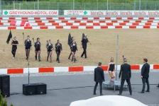 Choreografie vystoupení k slavnostnímu otevření závodiště pro chrty - mobilní Casino