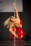 Velká show, exhibice a vystoupení v Pole Dance v Praze na téma Carmen a Charleston