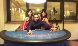 Víkend s Mobilní casino kasino na svatbě i na firekní párty na Machově jezeře
