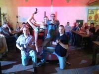 Exhibice show vystoupení Pole Dance Čský Krumlov - Mobilní casino
