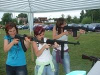 Airsoftová střelnice skvěle pobavila osmdesát paní a dívek, Mobilní casino v akci!