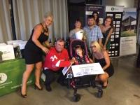 Dobročinná sbírka na postiženou holčičku, mobilní casino Halamka