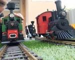 Železnice šlapací